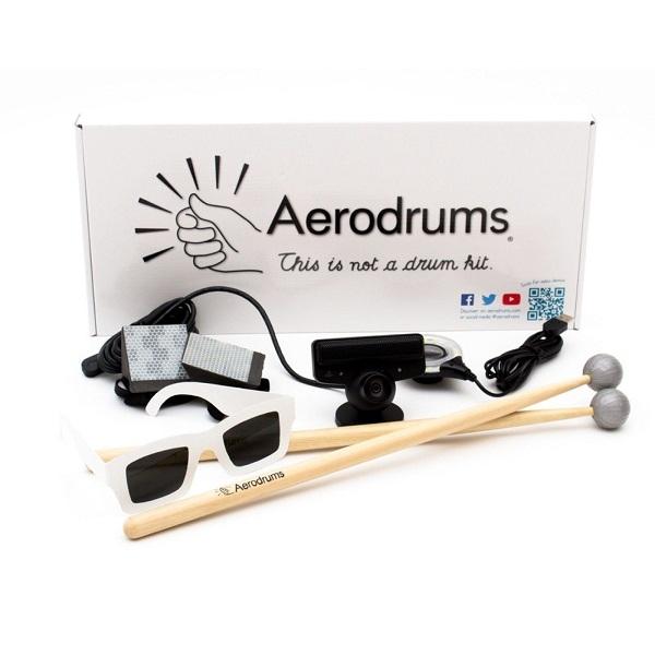 Aerodrums - Batteria virtuale/invisibile con videocamera