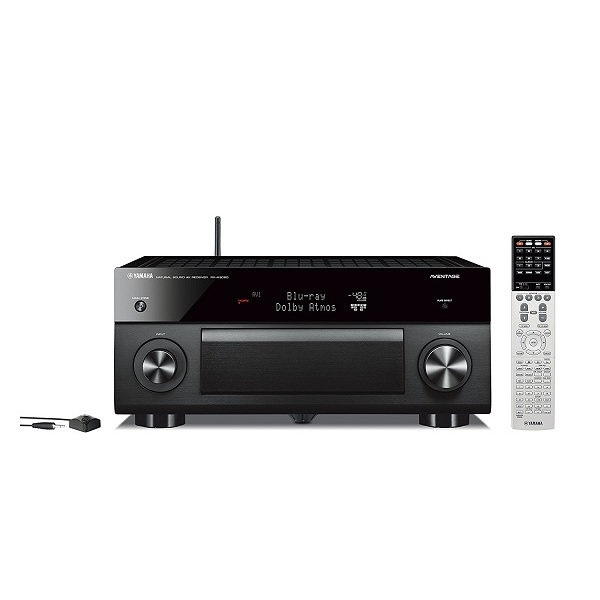 Yamaha - RX-A3060BL 11.2 Channel Network AV Receiver