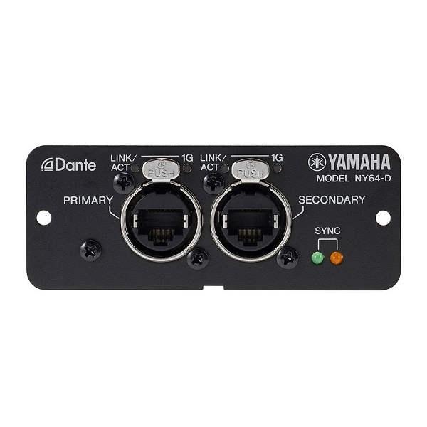 Yamaha - NY64-D Dante Digital Interface Card