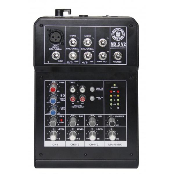 Topp Pro - [MX.5 V2] Mixer 5 canali