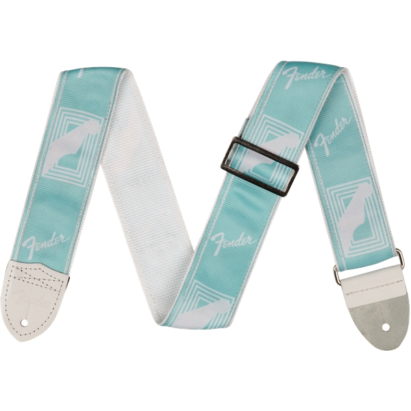 "Fender - Tracolla 2"" Custom Color Monogrammed Straps Daphne Blue"