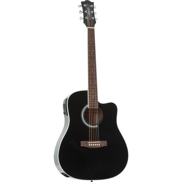 Eko - CW EQ Black VAN-3L Chitarra acustica