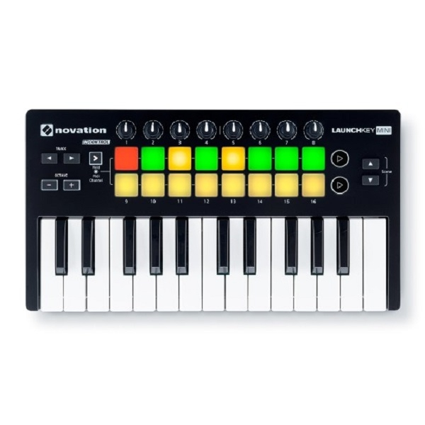 Novation - Launchkey Mini Mk2 Controller a tastiera