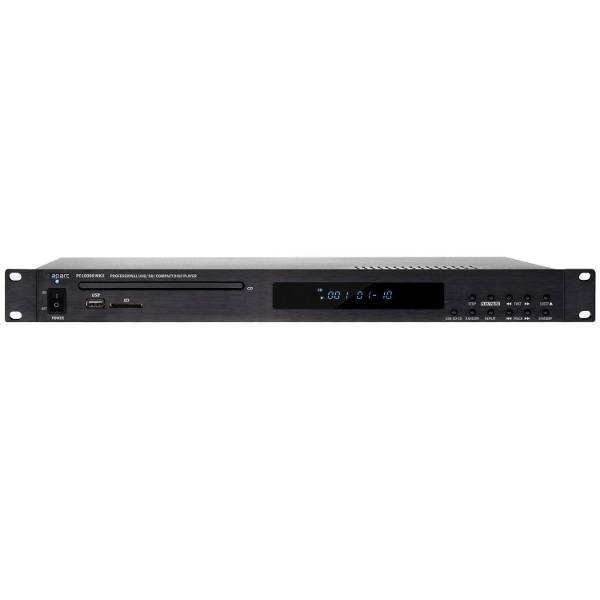 Apart - PC1000RMKII MEDIA PLAYER CD/MP3 E USB-SDCARD RS232 1U RACK