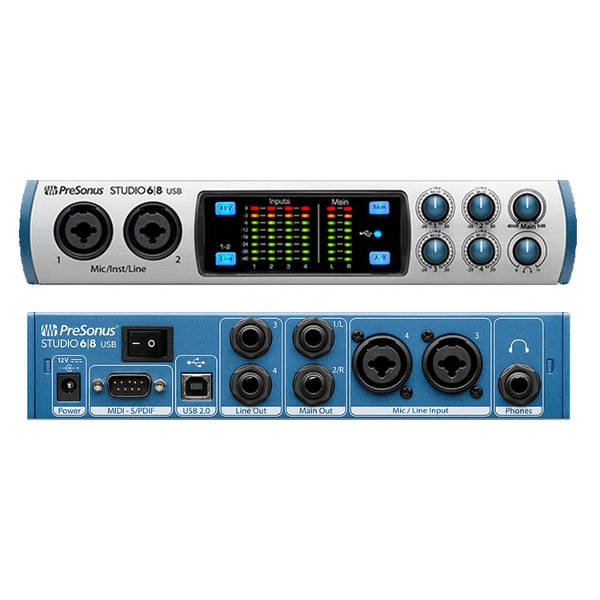 PreSonus - STUDIO 68 - Interfaccia Audio USB