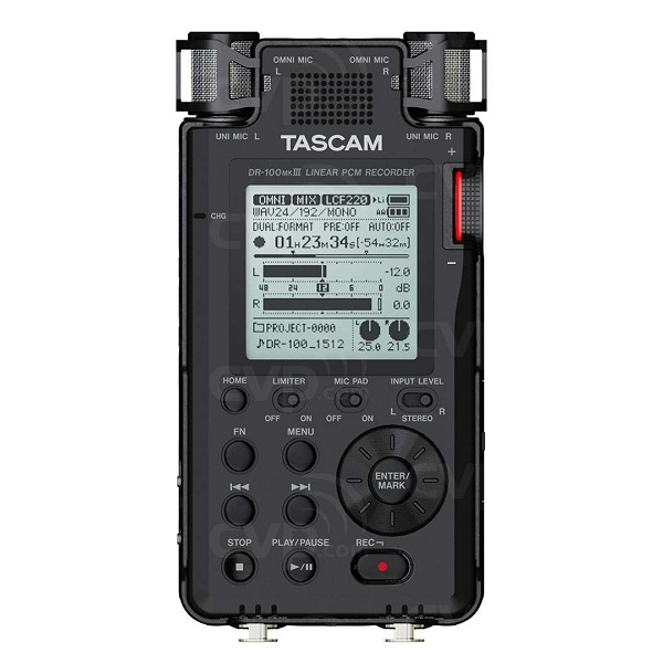 Tascam - DR100 MK3 Registratore digitale portatile