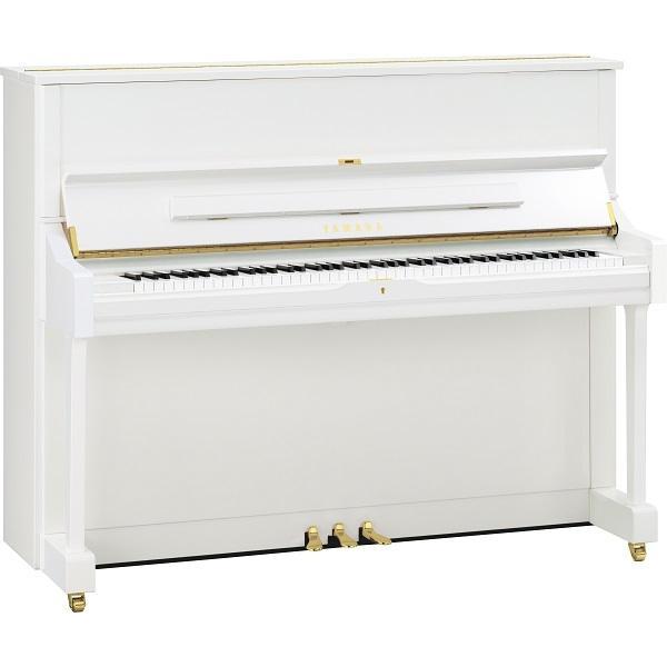 Yamaha - U1 Pianoforte Verticale Bianco