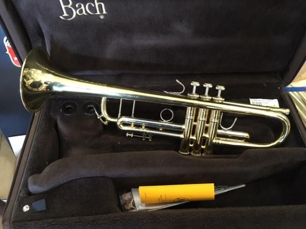 Bach - TROMBA BACH ML37 DORATA (US)