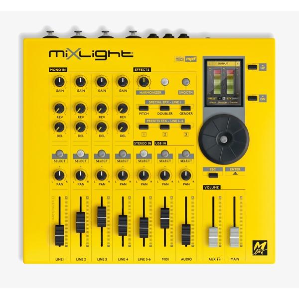 M-Live - [MIXLIGHT] Expander PRO con mixer, multieffetto e Harmonizer