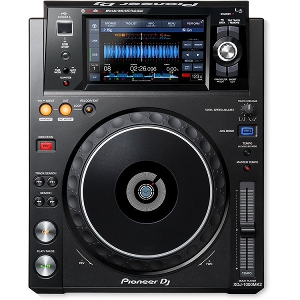 Pioneer - [XDJ-1000MK2] Deck digitale (DJC-1000 bag omaggio)