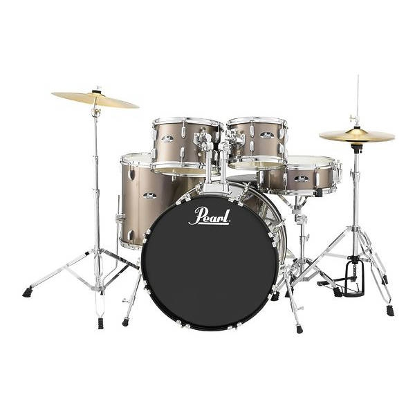 Pearl - Roadshow RS-505C/C707 Set batteria acustica 5 pezzi - Bronze Metallic