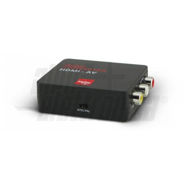 Alpha Elettronica - CT351/1/6 CONVERTITORE HDMI-COMPOSITO +AUDIO AN.