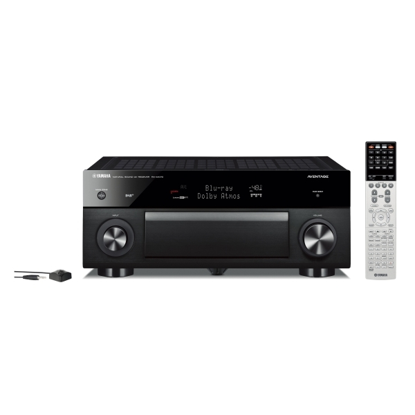 Yamaha - Aventage - MusicCast RX-A1070 Ricevitore AV Nero