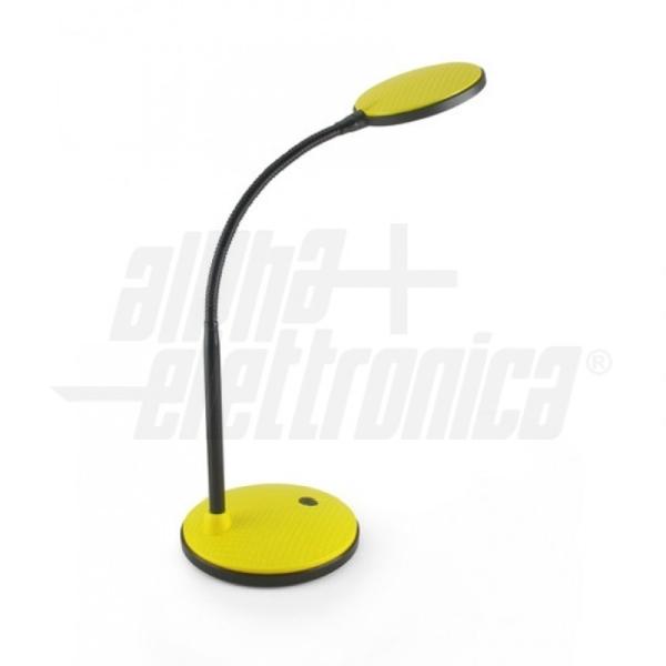 Alpha Elettronica - JO381/50G Lampada da Tavolo LED Gialla