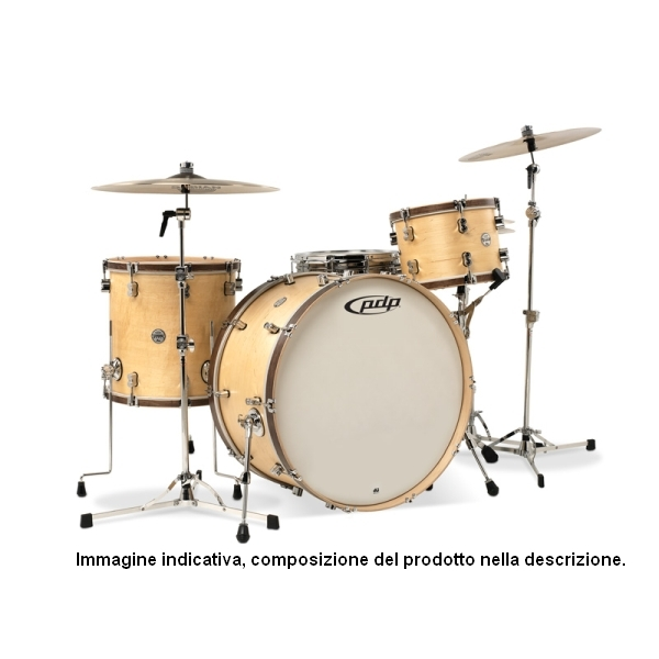 PDP by DW - Batteria Concept Classic Wood Hoop Natural
