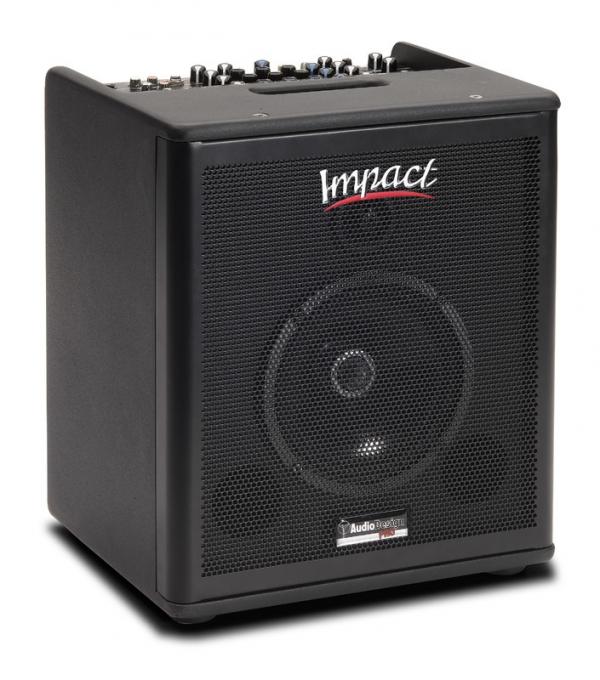 AudioDesign - IMPACT AG P6 DIFFUSORE ATTIVO 6,5 X CHITARRA 3 INGRESSI E 16 EFFETTI