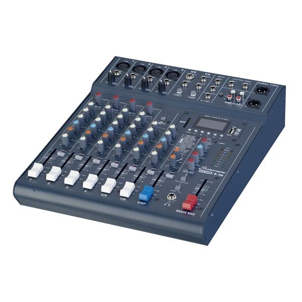 Studiomaster - [CLUB XS8] Mixer 8 canali con effetti USB MP3