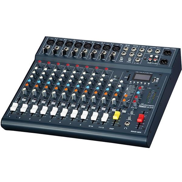 Studiomaster - [CLUB XS12] Mixer 12 canali con effetti USB MP3