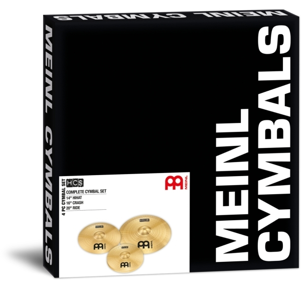 Meinl - HCS - Complete Cymbal Set HCS141620