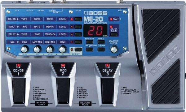 Boss - ME20 Guitar Multiple Effect