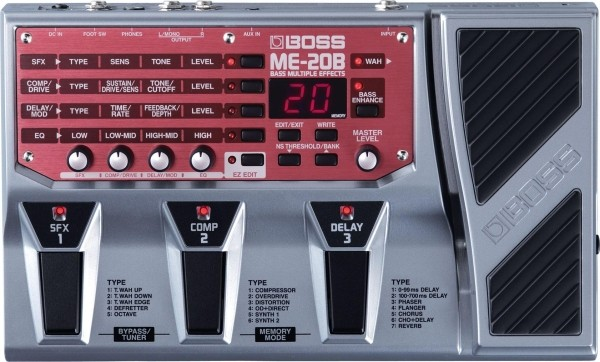 Boss - ME20B Bass Multiple Effect