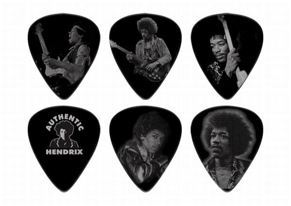 Dunlop - Jimi Hendrix Silver Portrair Series