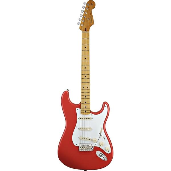 Fender - Classic - 50s Stratocaster Fiesta Red Maple