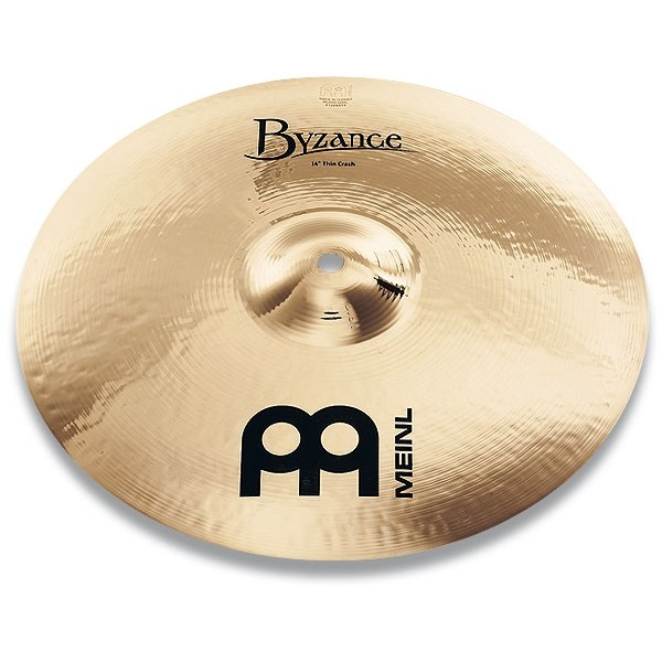 "Meinl - Byzance - Brilliant Medium Thin Crash 16"" B16MTC-B"