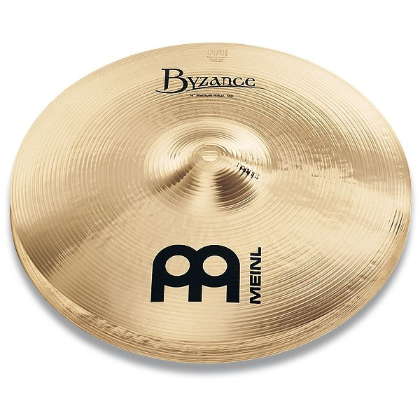 "Meinl - Byzance - Brilliant Medium HiHat 14"" B14MH-B"