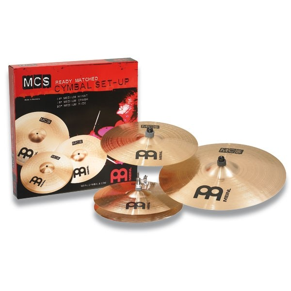 "Meinl - MCS - Cymbal Set-Up 14""/16""/20"""