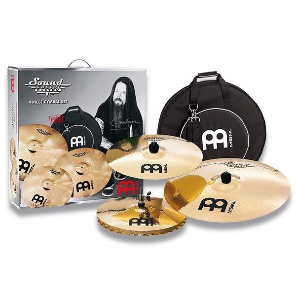 "Meinl - Soundcaster - Custom Cymbal Set 14""/16""/20"""