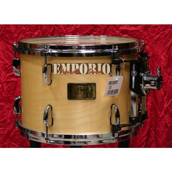 "Pearl - [BRX-1309T/C] Tom 13x9 Master Studio ""brx"" - Natural"