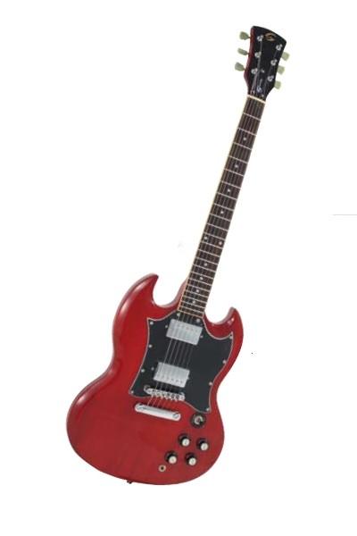 Soundsation - SDV500CH Chitarra Elettrica - Cherry Red