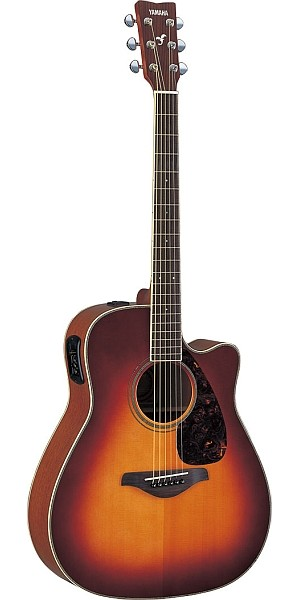 Yamaha - FGX720SCA Brown Sunburst
