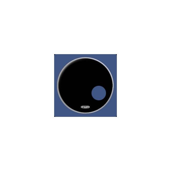 "Evans - EQ3 Risonante Cassa Black - BD22RB Pelle risonante cassa 22"""