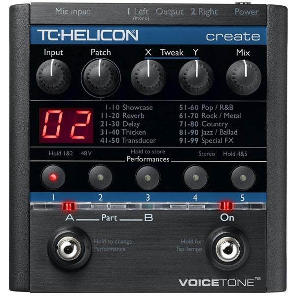 TC Helicon - VoiceTone Create