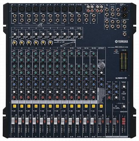 Yamaha - [MG166CX-USB] Mixer 16 canali con effetti e USB