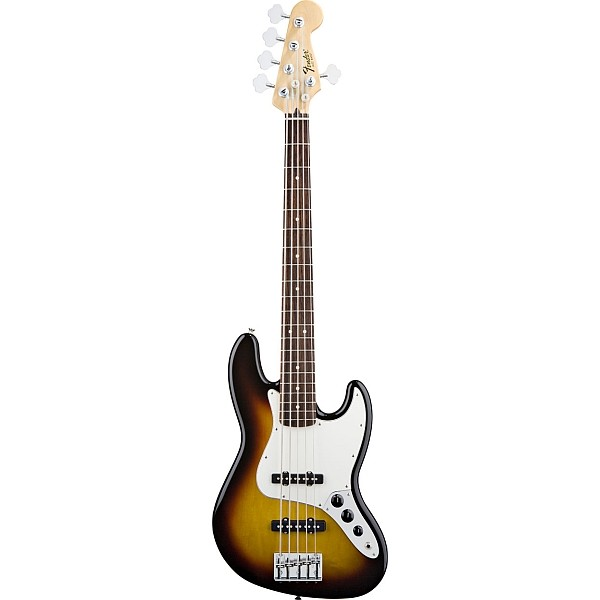 Fender - Mexican Standard - Jazz Bass V Brown Sunburst Rosewood