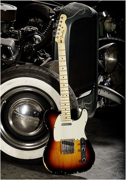 Fender - Custom Shop Time Machine - Classic S-1 Telecaster Relic 3-Color Sunburst Maple