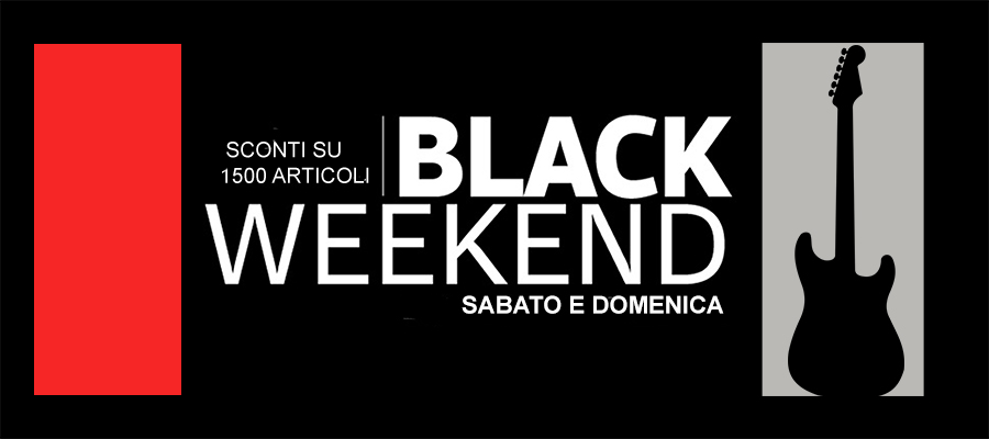 BANNER BLACK WEEKEND NON CANCELLARE